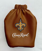 New Orleans Saints Crown Royal Game Day Football Bag Special Edition Nfl Drew