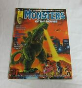 Monsters Of The Movies 5 Godzilla Cover Marvel Magazine-february 1975-vf/nm