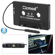 Audio Aux Car Cassette Tape Adapter Converter Bluetooth 5.1 For Iphone Ipod Mp3