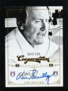 2012 Panini Cooperstown Signatures /100 Vin Scully Ffa-vin Auto