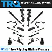 Control Arm Tie Rod Sway Link Ball Joint Strut Shock Steer Suspension Kit 16pc