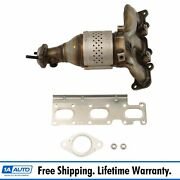 Exhaust Manifold With Catalytic Converter Gasket And Hardware Rh For Ford Lincoln