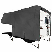 Waterproof Superior Camper Storage Cover Fits Length 8'-10' Truck Bed Campers