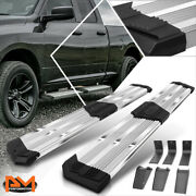 J2 For 09-20 Dodge Ram Extended Cab 10 Ridged Step Pad Running Boards Chrome
