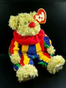 Ty Beanie Baby Piccadilly The Clown Vintage 1993 The Attic Treasures Collection