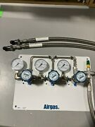 Airgas Single Stage Deluxe Triple Wall Mountable Gas Regulator Pn/y80-cl66301