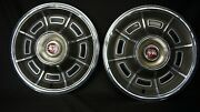 Two 1971 1972 And 1973 Mercury Cougar Xr7 Hubcaps Wheel Cover