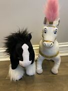 Disney Store Brave Angus Horse And Tangles Maximus Stuff Animals,great Condition