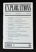 Explorations - Number 2 - Lsd - The Psychedelic Experience - June-july 1965