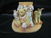 Cherished Teddies Christopher - Old Friends Are The Best Figure In Box