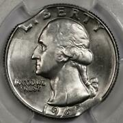 1965 Pcgs Ms64 Incomplete Clip And Double Clipped Planchet Quarter Mint Error