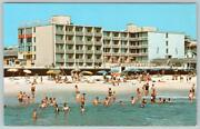1970and039s Rehoboth Beach Delaware Atlantic Sands Hotel Boardwalk And Baltimore Avenue