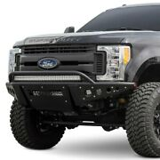 For Ford F-250 Super Duty 17-19 Bumper Stealth R Full Width Black Front