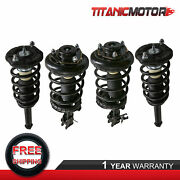 Front + Rear Left + Right Struts Shock Absorbers For Nissan Maxima Infiniti I30