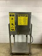 Counter Top Steam N Hold Convection Steamer Accutemp 208d8-300 Tested