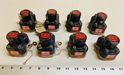 Lot Of 8 Vintage Cutler-hammer Relays Relay 6042h155