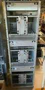 Lot Of 3 Nortel Dms 100 Cabinets With Boards Power And Fans See Description