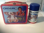 Vintage Gremlins Lunch Box W/thermos - 1984