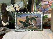 Bird Duck Geese Surf Scooter Lighthouse Ocean Metal Sign Vintage New