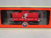 ✅lionel Monopoly Reading Railroad Caboose 6-36646 For O Gauge Steam Engine