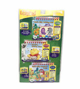 My First Leap Pad 3- In- 1 Interactive Learning Books And Cartridges. New/sealed