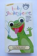Baby Einsteinbaby Shakespeare Exploring Vocabulary Vhs Ages 1+ 1+ Ship