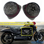 For Suzuki M109r Limited Edition Boss 06-19 Dual Intake Air Cleaner Filter Kit