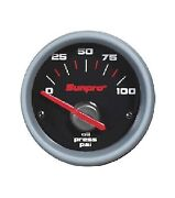 Sunpro 2 Electrical Oil Pressure Gauge Replacement Gauge Only 0-100 Psi Cp7101