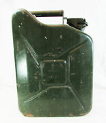 Vnt Jerry Can 10l Ltr Litre Diesel Petrol Gas Fuel Oil Water Army Green Storage