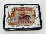 Playing Cards Anheuser-busch Bottled Beers In Tin 1988 Unused