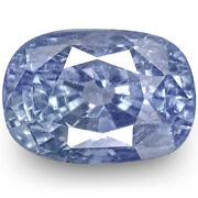 Igi Certified Burma Blue Sapphire 3.54 Cts Natural Untreated Lustrous Blue