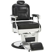Vintage Barber Chair Hydraulic Recline Salon Beauty Spa Chair Styling Equipment