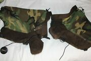 Spec Ops Military Gore Tex Woodland Gaiters With Toe Guards