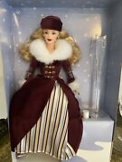 Mint Barbie Doll Avon Exclusive Victorian Ice Skater Special Edition 2000 New