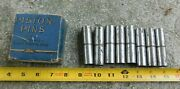 8 Nos Piston Pins For 1932-36 Ford V8 90hp Cars And Trucks Al Pistons Standard