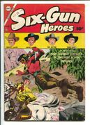 Six-gun Heroes 30 1954-tex Ritter Cover By Dick Giordano Cover-lash Larue-to...