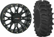 Mounted Wheel And Tire Kit Wheel 20x6.5 4+2.5 4/137 Tire 34x9-20 8 Ply