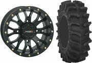 Mounted Wheel And Tire Kit Wheel 18x7 4+3 4/156 Tire 35x9.5-18 8 Ply