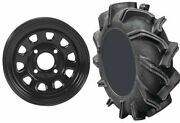 Mounted Wheel And Tire Kit Wheel 20x6.5 4+2.5 4/156 Tire 28x9-14 6 Ply