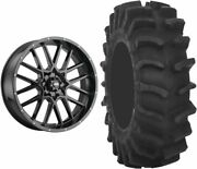 Mounted Wheel And Tire Kit Wheel 20x6.5 4+2.5 4/137 Tire 36x9-20 8 Ply