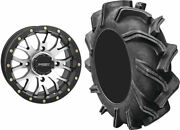 Mounted Wheel And Tire Kit Wheel 20x6.5 4+2.5 4/137 Tire 35x9-20 6 Ply