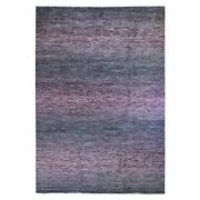 10'x13'10 Chiaroscuro Collection Hand Knotted Thick And Plush Modern Rug R59967