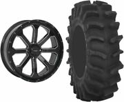 Mounted Wheel And Tire Kit Wheel 20x6.5 4+3 4/137 Tire 34x9-20 8 Ply