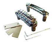 New Babicz Fch Full Contact Hardware Tune-o-matic Bridge-chrome And Gold In Stock