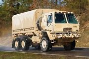 Military Nos Tan Truck Frame And Cover Tarp 8 X 14.5 X 4 Mtv M1083 5 Ton Us Army
