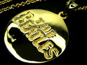 The Beatles 18k Gold Plated Pendant Necklace