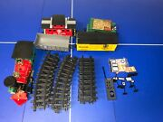 Scientific Toys Rio Grande Full Train Set W/tack And Signs Tested Works Great