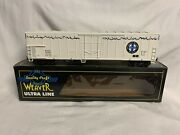 ✅weaver Bnsf Ice Cold Express 57andrsquo Mechanical Reefer Car W/ Sounds Lionel Coupler