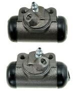 2 Drum Brake Wheel Cylinders Front Left/right