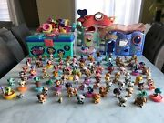 Lot Littlest Pet Shop Lps Cats Dogs Etc... Toys Accessories And House